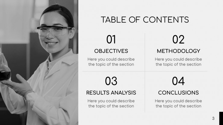 Cloral Minimalist Breakthrough presentation template
