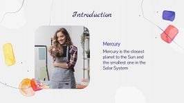 Culle Watercolor Workshop presentation template