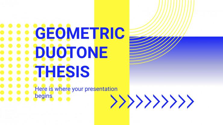 Modelo de apresentação Tese geométrica