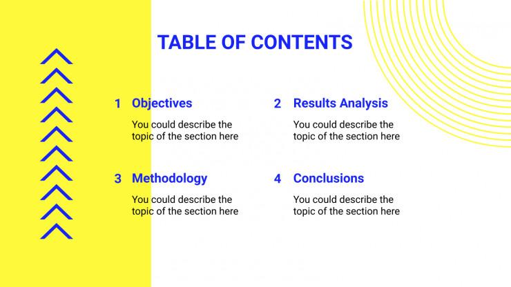 Geometric Duotone Thesis presentation template