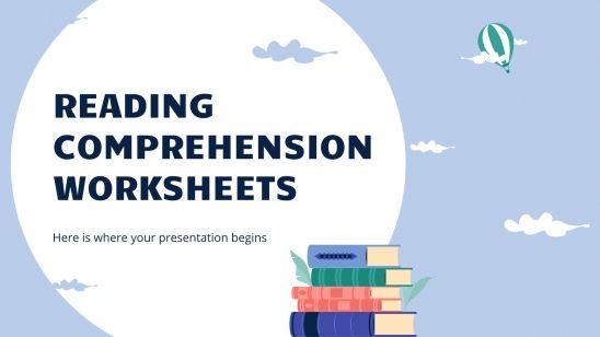 Reading Comprehension Worksheets presentation template