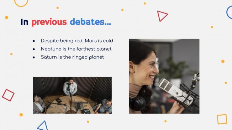 Zombie Ideas Debate presentation template