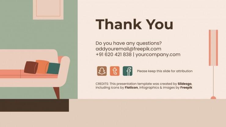 Profil de fabricant de meubles IDEA : Modèles de présentation