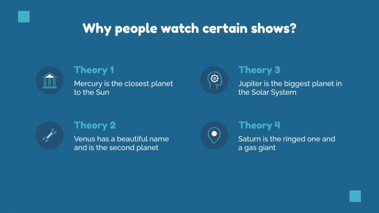 Analyse de l'audience avec design minimaliste : Modèles de présentation