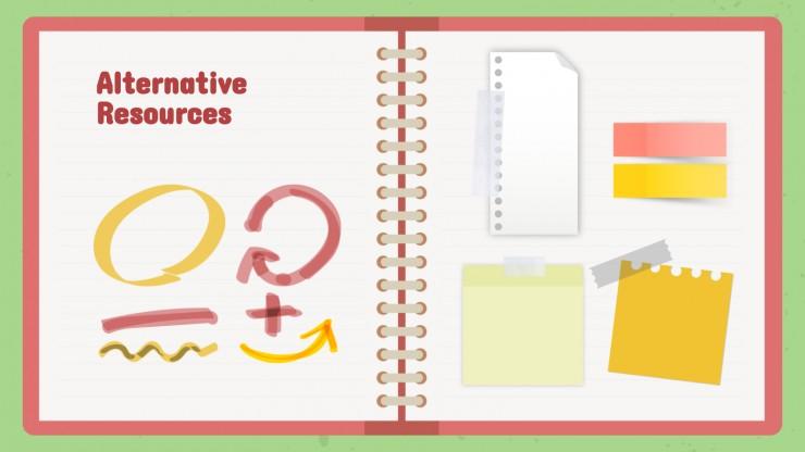 Bloc-notes et cours : Modèles de présentation