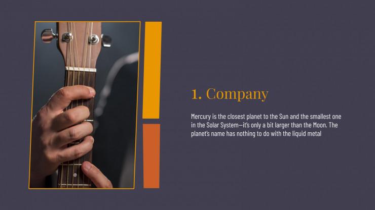 Classical Music presentation template
