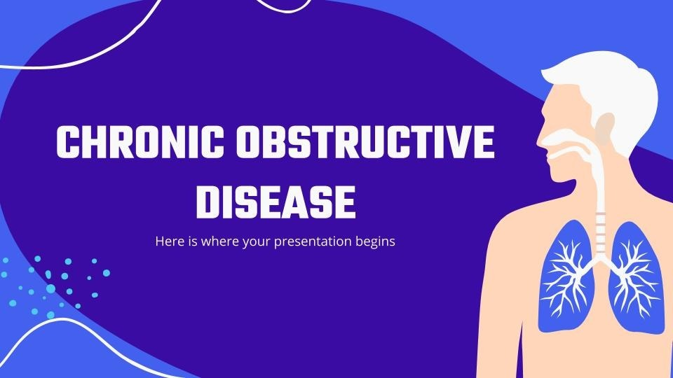 Chronic obstructive disease presentation template