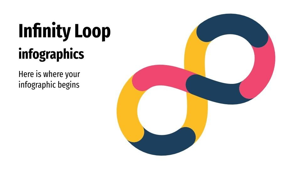Infinity Loop presentation template