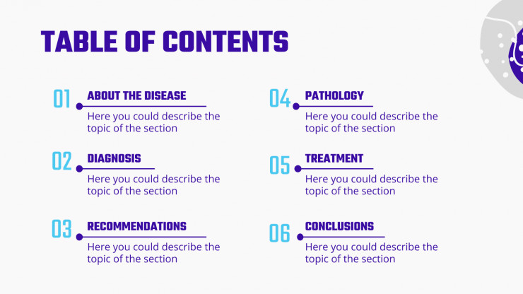 Chronic obstructive disease presentation template