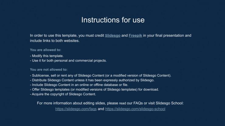 Infinity Loop presentation template
