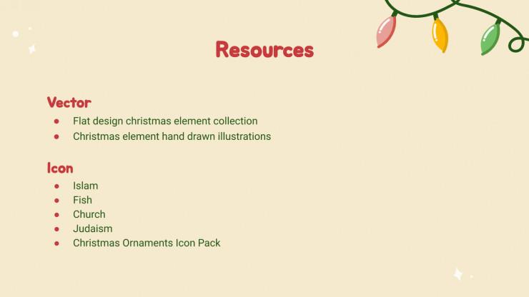 Merry Christmas presentation template