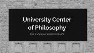 Philosophische Fakultät Präsentationsvorlage