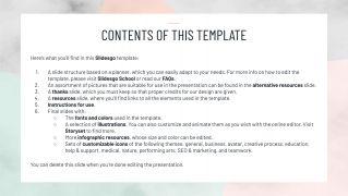 Minimalist HS Weekly Planner presentation template