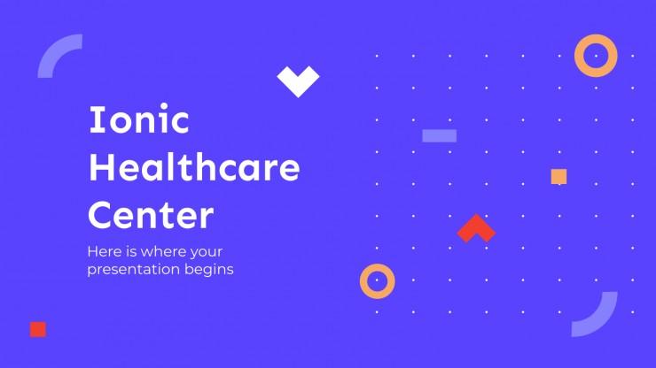 Centre de santé ionique : Modèles de présentation