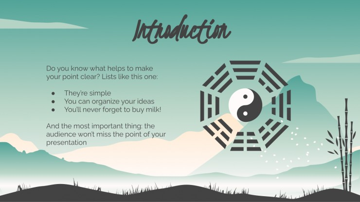 Taoist Religion Thesis presentation template