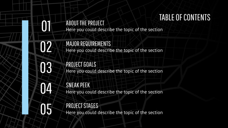 Town planning Project Proposal presentation template