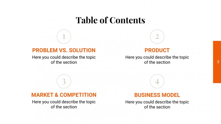 Vacom Pitch Deck presentation template
