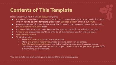 Homemade Xmas Decoration presentation template