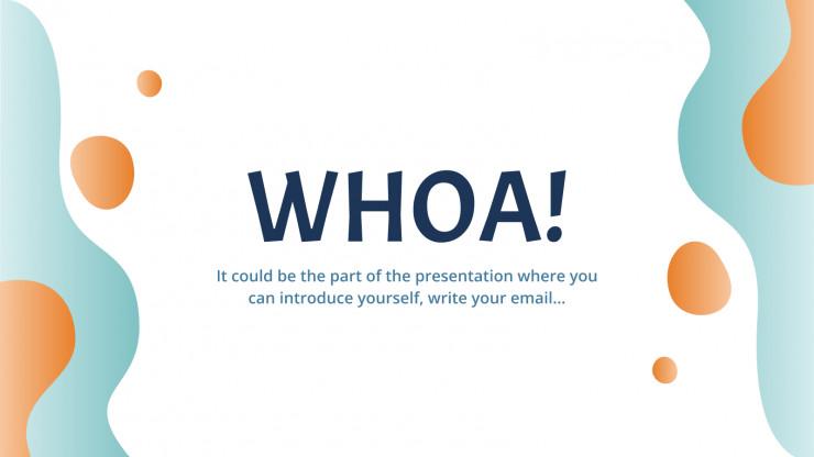 High school extracurricular activities presentation template