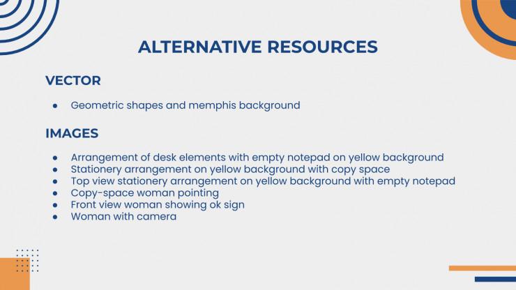 Memphis Themes presentation template
