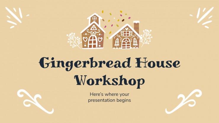Gingerbread house workshop presentation template