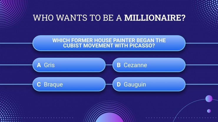 Who needs to be a millionaire presentation template