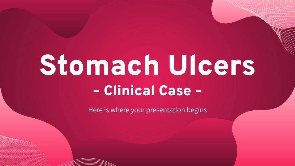 Modelo de apresentação Caso clínico de úlceras estomacais