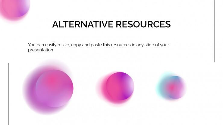 Nicse gradient presentation presentation template