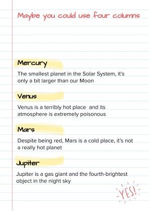 Rulest notebook presentation template