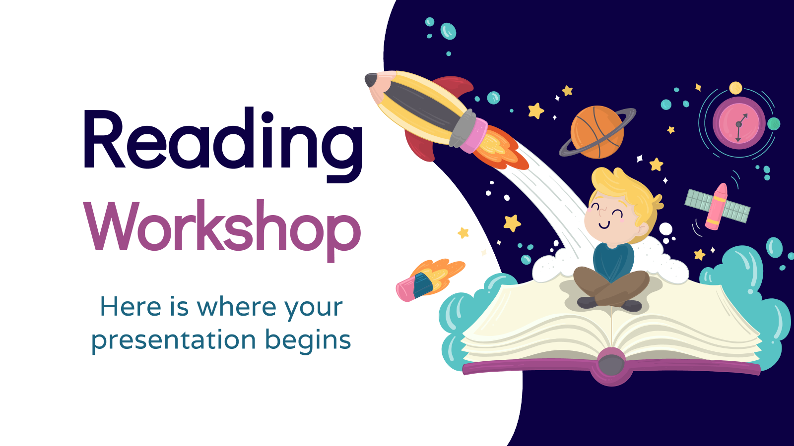 Reading Workshop presentation template