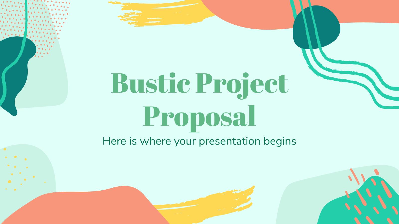 Modelo de apresentação Proposta de projeto arrasadora