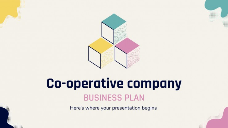 Co-operative company business plan presentation template