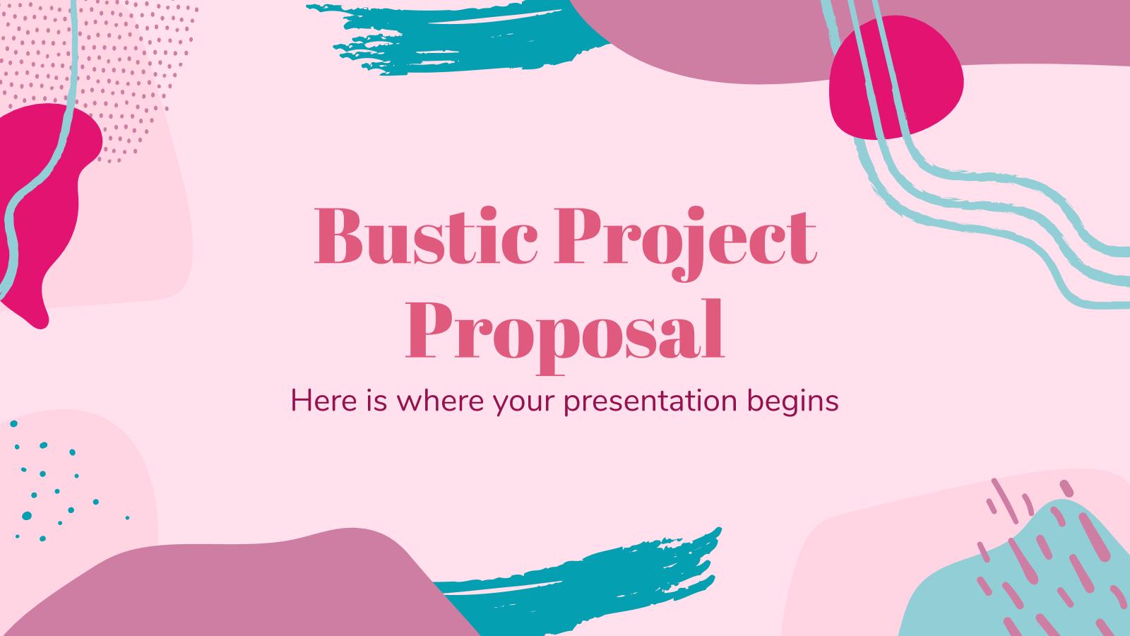 Proposition de projet Bustic : Modèles de présentation
