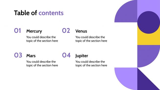 Geometric Philosophy Lesson presentation template