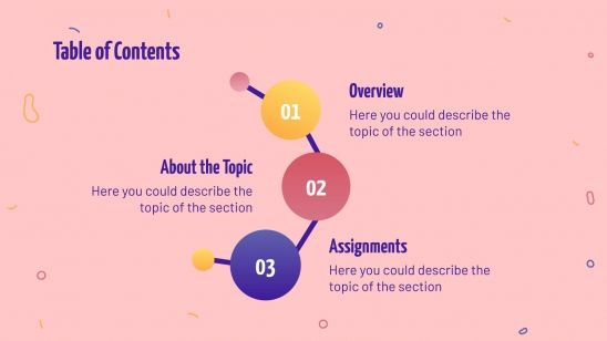 Physical sciences lesson presentation template