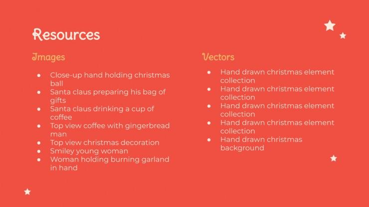 Autocollants de Noël : Modèles de présentation