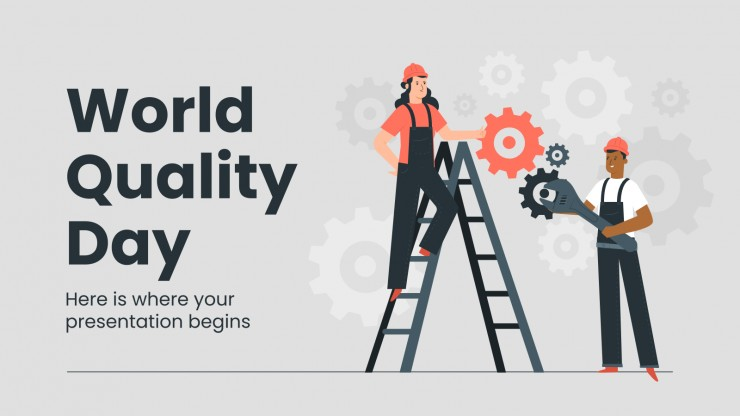 World Quality Day presentation template