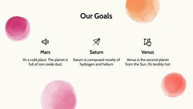 Simple Martic Campaign presentation template
