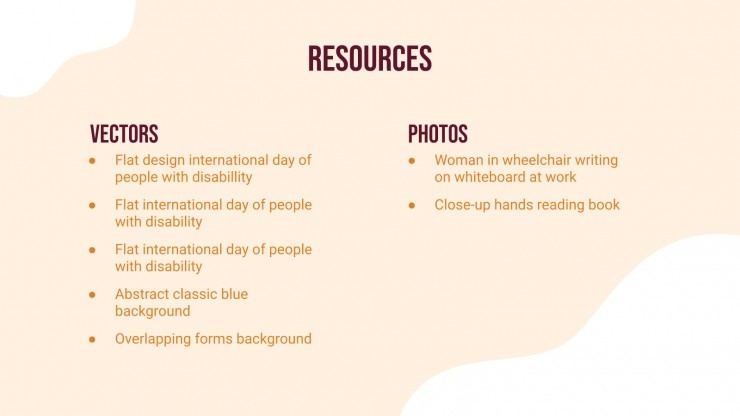 International Day Of People With Disabilities presentation template