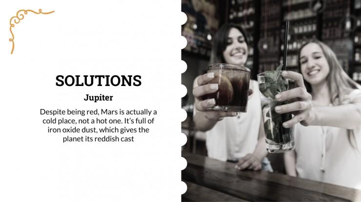 Adopt a pub pitch deck presentation template