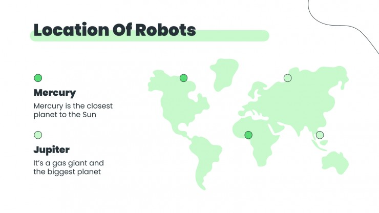 Robotic workshop presentation template