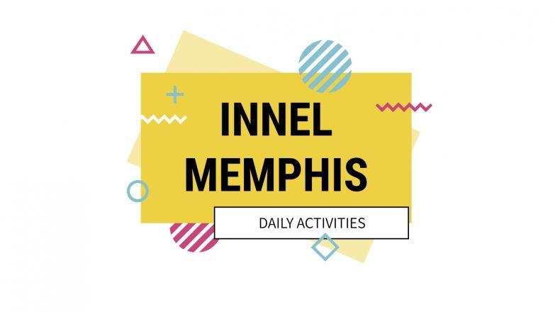 Plantilla de presentación Actividades diarias Innel Memphis