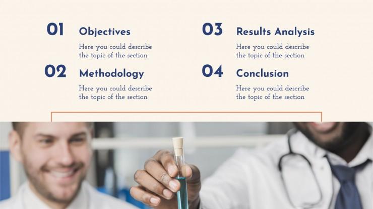 Modelo de apresentação Pesquisa da indústria farmacêutica
