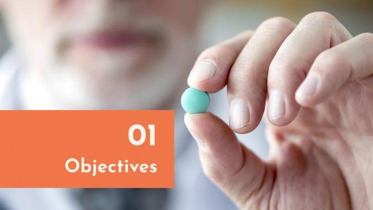 Plantilla de presentación Avances industria farmacéutica
