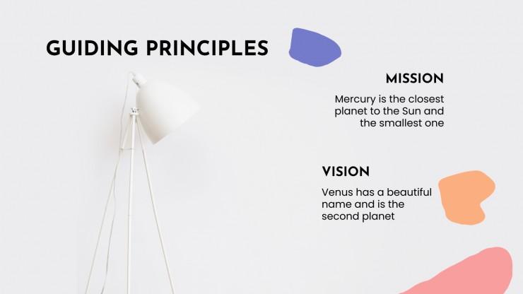 Stratégie de réseaux sociaux Moovia : Modèles de présentation