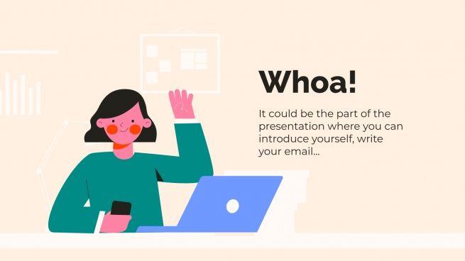 Morning Work Slides presentation template