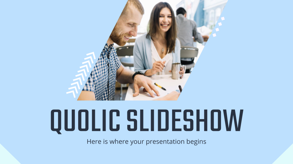 Quolic Slideshow presentation template