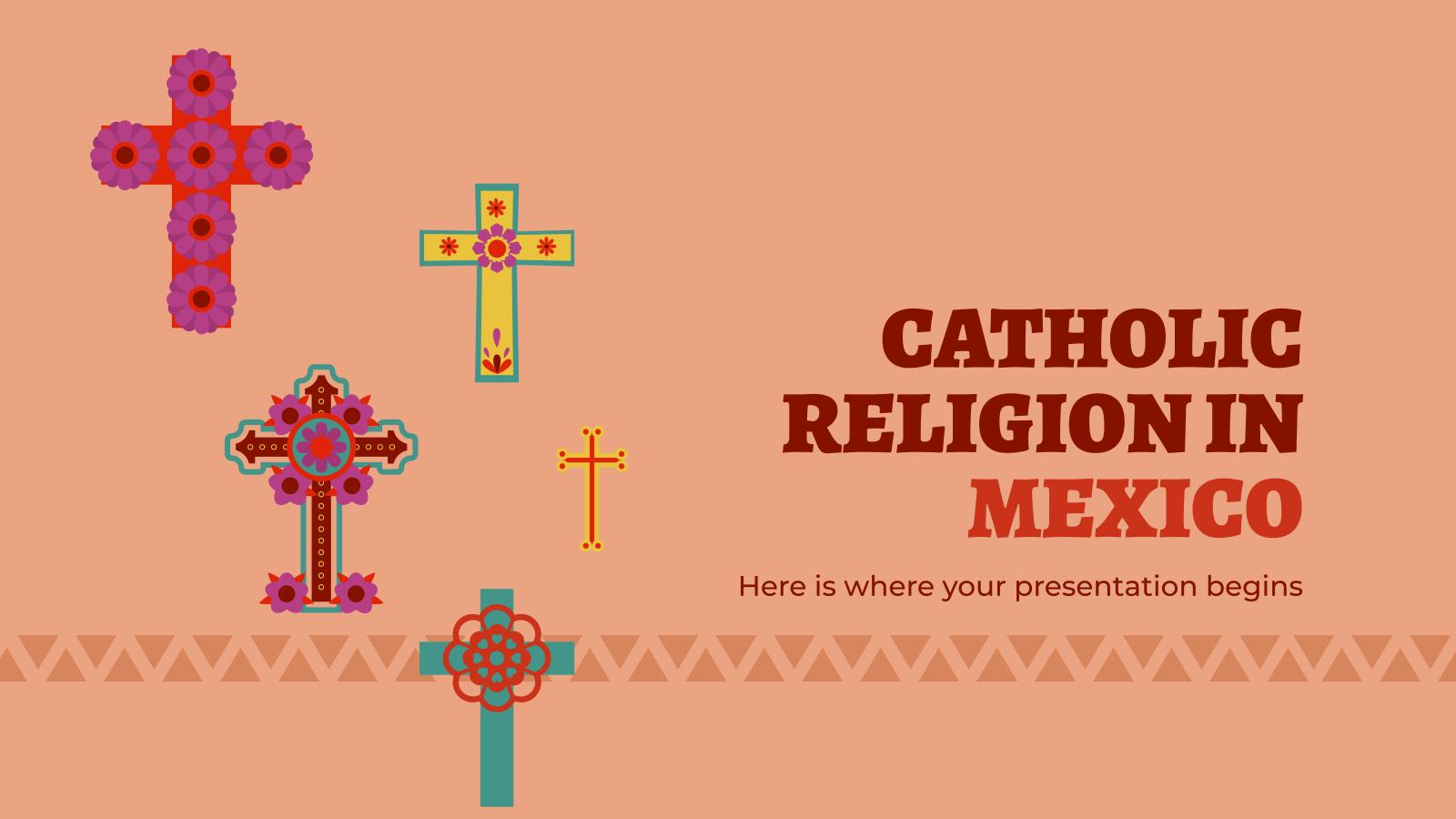 Modelo de apresentação A religião católica no México