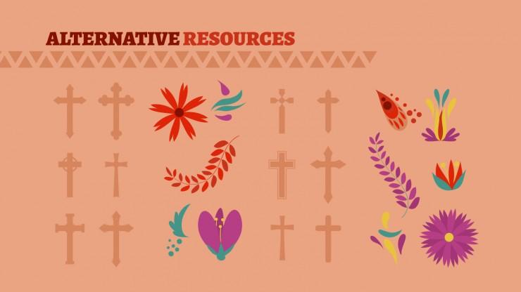 Catholic Religion in Mexico presentation template