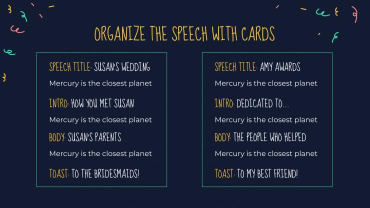 Ceremonial Speech presentation template